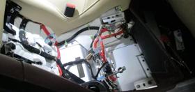 astonmartinのブレーキ修理