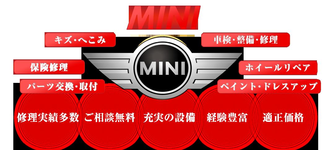 MINIのことなら S-TECH carservice (エステックカーサービス)