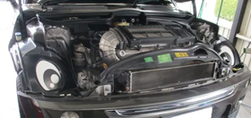 miniのブレーキ修理