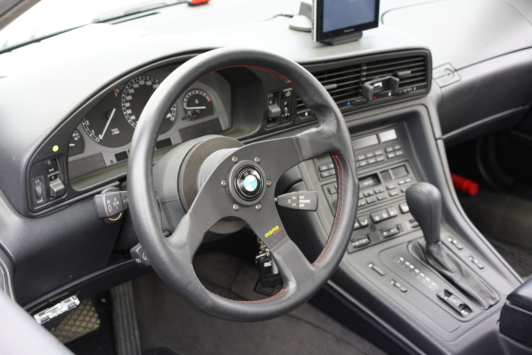 BMWの車内